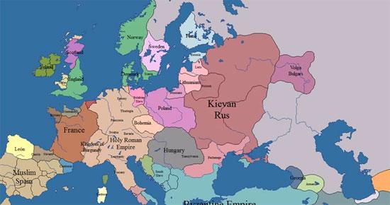 Σύνορα της Ευρώπης