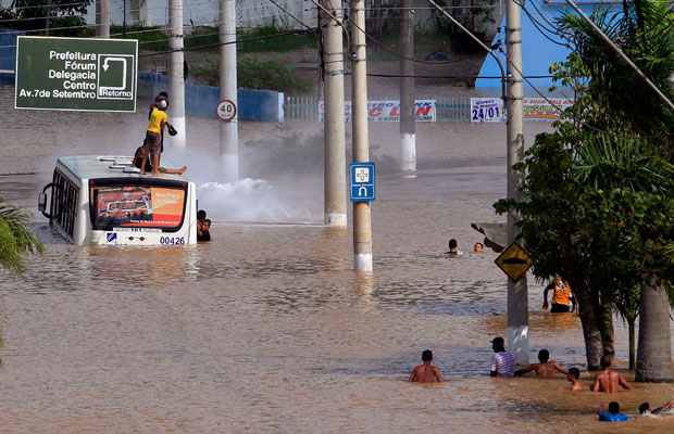 floods in Brazil