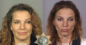 Άνθρωποι πριν και μετά την χρήση ναρκωτικών (Photos)