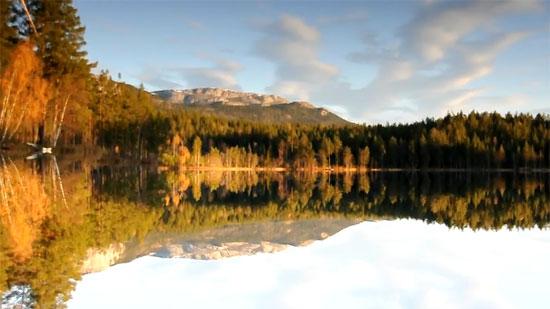 Αντανάκλαση λίμνης