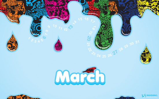 Wallpapers ημερολόγια Μαρτίου 2011 (3)
