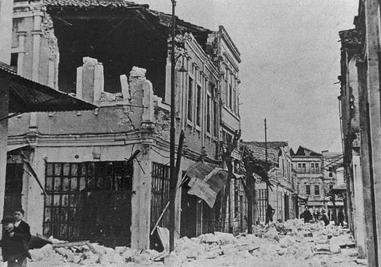 ιστορική αναδρομή σεισμών (2)