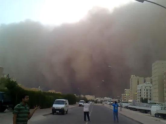 Τρομακτική αμμοθύελλα στο Κουβέιτ