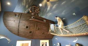 Απίστευτο πειρατικό υπνοδωμάτιο (Photos)