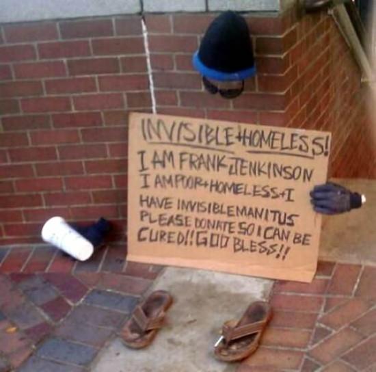 Φωτογραφία της ημέρας: Ο πιο ευρηματικός άστεγος