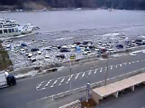 Εξωπραγματικό video από το τσουνάμι της Ιαπωνίας