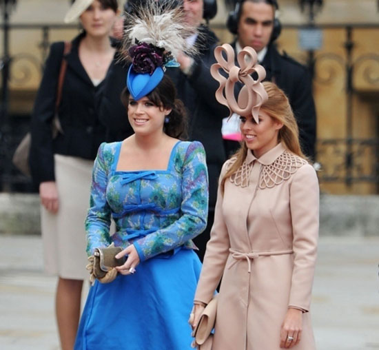 Τα πιο παράξενα καπέλα στον βασιλικό γάμο (1)