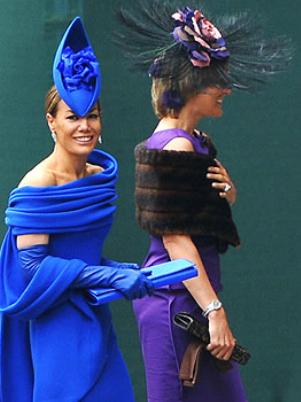 Τα πιο παράξενα καπέλα στον βασιλικό γάμο (7)