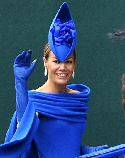 Τα πιο παράξενα καπέλα στον βασιλικό γάμο (8)