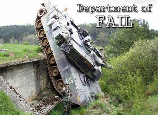 Όταν τα πράγματα στον στρατό πάνε στραβά...