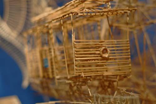 Έργο τέχνης από 100.000 οδοντογλυφίδες σε 35 χρόνια (15)