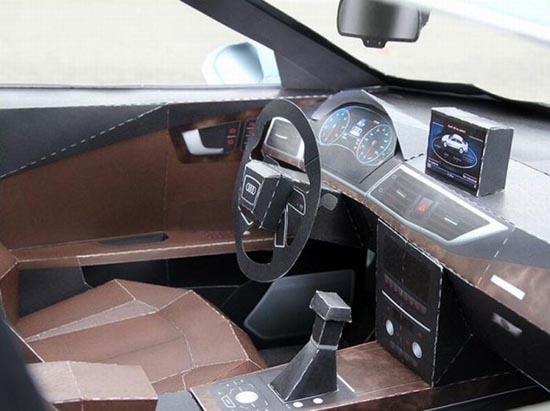 Αυτοκίνητο από χαρτί (6)
