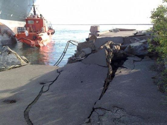 Όταν τα «φρένα» του πλοίου δεν πιάνουν... (2)