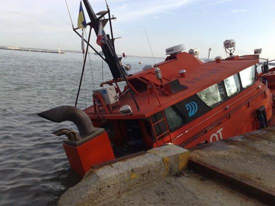 Όταν τα «φρένα» του πλοίου δεν πιάνουν... (5)