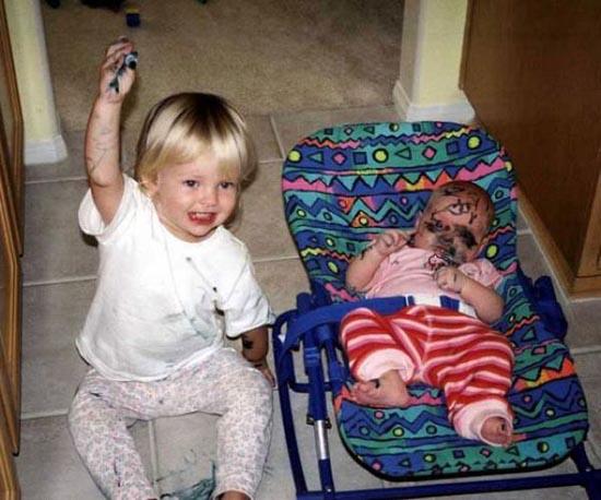 Αστείες φωτογραφίες με μωρά/παιδιά (1)