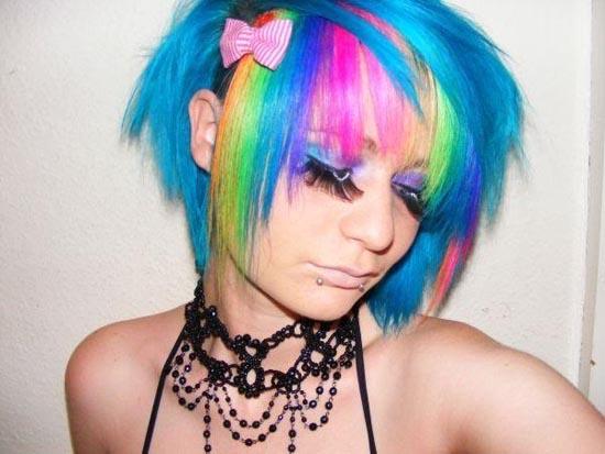 Μαλλιά ουράνιο τόξο (33)