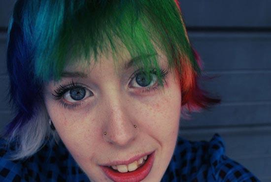 Μαλλιά ουράνιο τόξο (31)