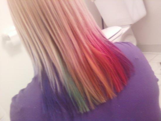 Μαλλιά ουράνιο τόξο (30)