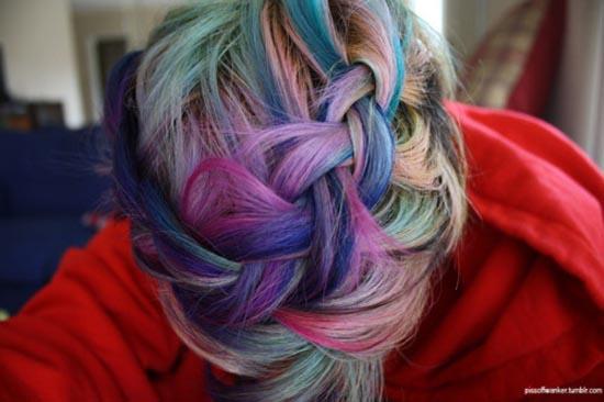 Μαλλιά ουράνιο τόξο (29)