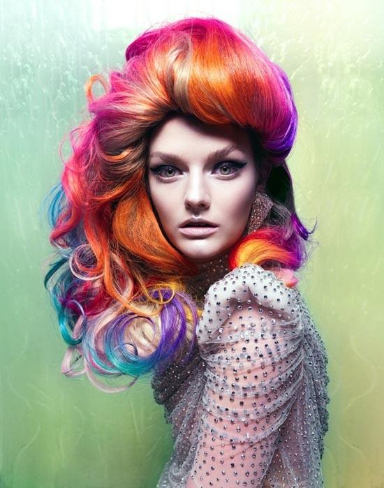 Μαλλιά ουράνιο τόξο (28)