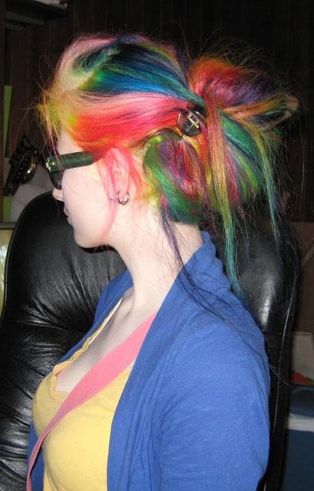 Μαλλιά ουράνιο τόξο (3)