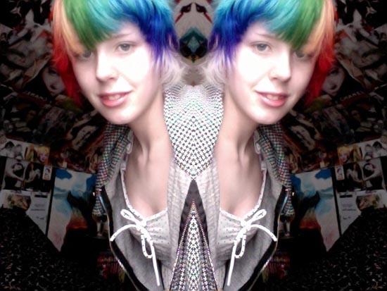 Μαλλιά ουράνιο τόξο (25)