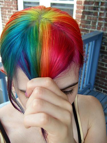 Μαλλιά ουράνιο τόξο (8)