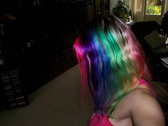 Μαλλιά ουράνιο τόξο (23)