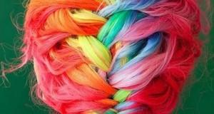 Μαλλιά ουράνιο τόξο (Photos)