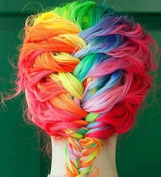 Μαλλιά ουράνιο τόξο (22)