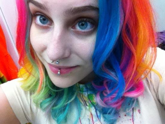 Μαλλιά ουράνιο τόξο (21)