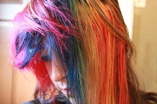 Μαλλιά ουράνιο τόξο (20)
