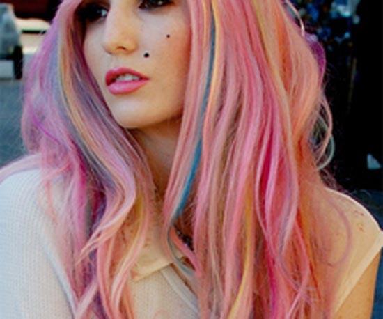 Μαλλιά ουράνιο τόξο (18)