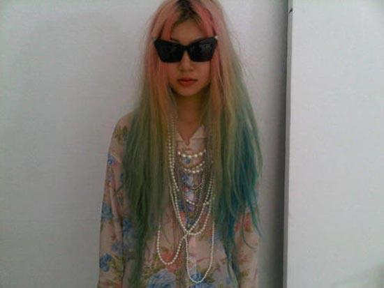 Μαλλιά ουράνιο τόξο (16)