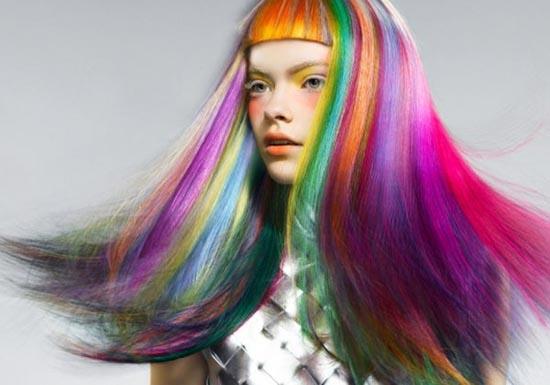 Μαλλιά ουράνιο τόξο (15)