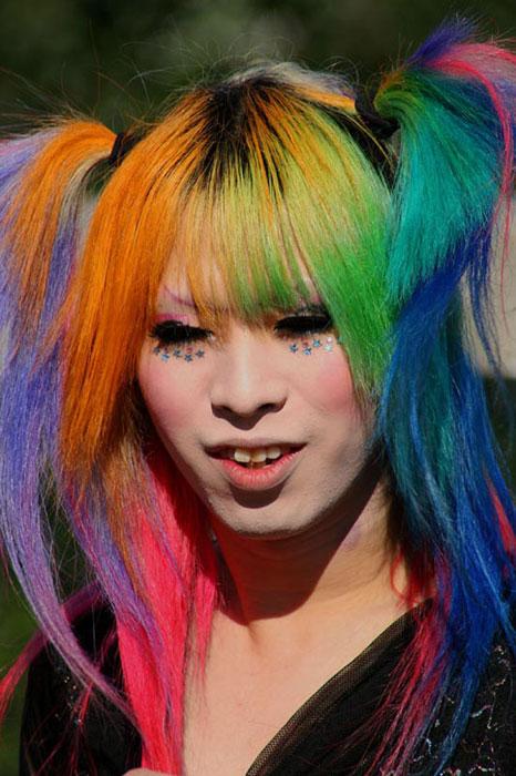 Μαλλιά ουράνιο τόξο (1)