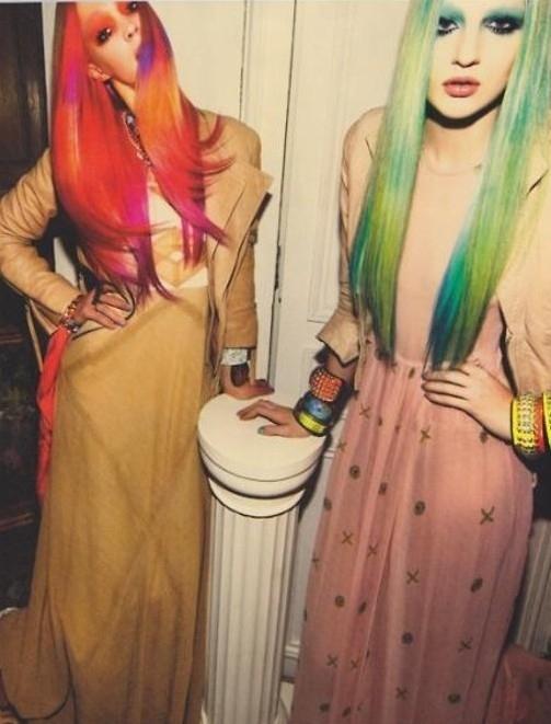 Μαλλιά ουράνιο τόξο (5)