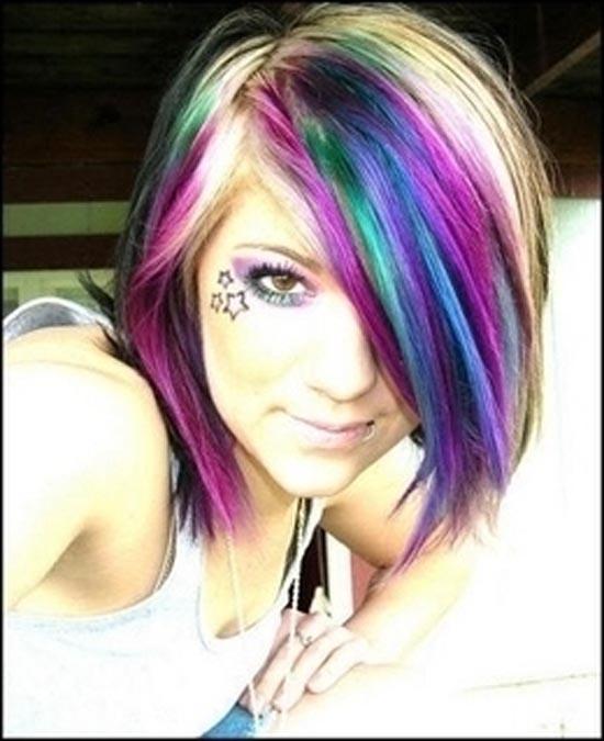Μαλλιά ουράνιο τόξο (11)
