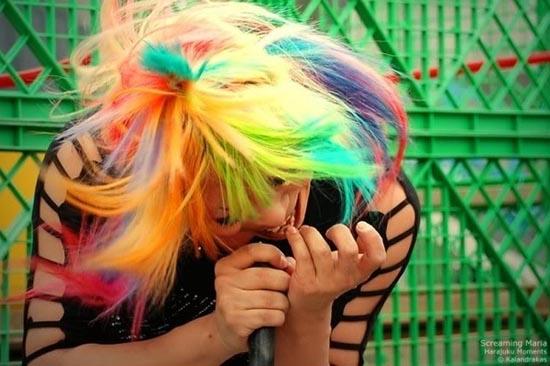 Μαλλιά ουράνιο τόξο (10)