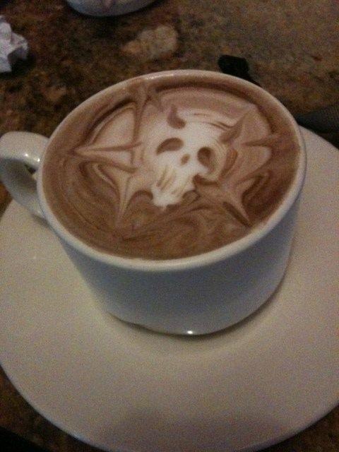 Φωτογραφία της ημέρας: Σατανικός καφές