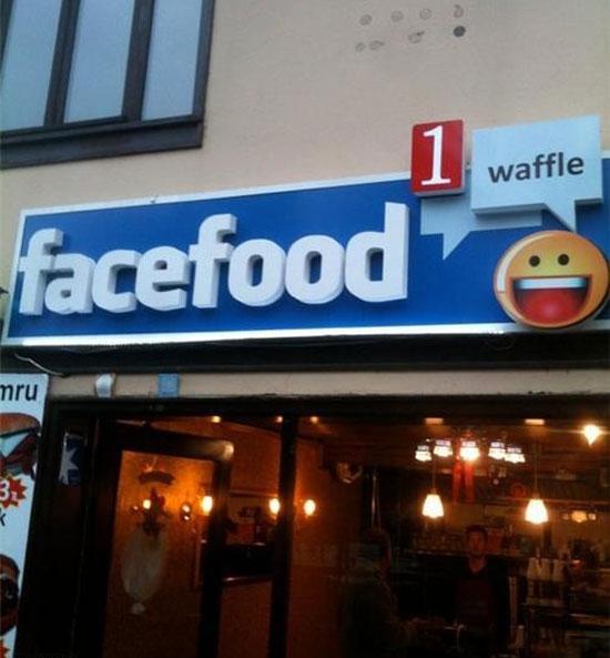 Φωτογραφία της ημέρας: Εστιατόριο Facebook