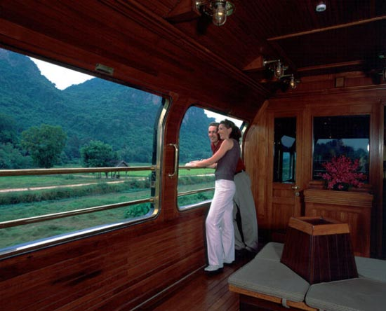 Ταξίδι με το υπερπολυτελές Eastern & Oriental Express (3)