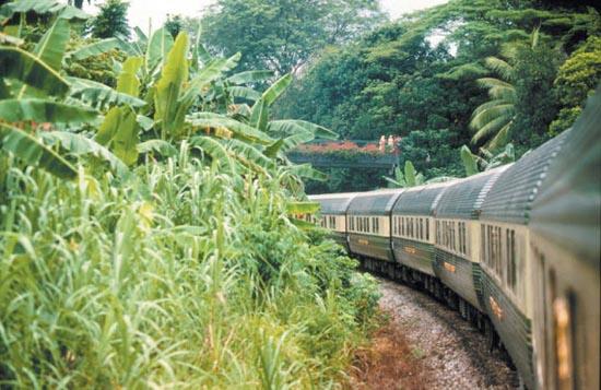 Ταξίδι με το υπερπολυτελές Eastern & Oriental Express (5)