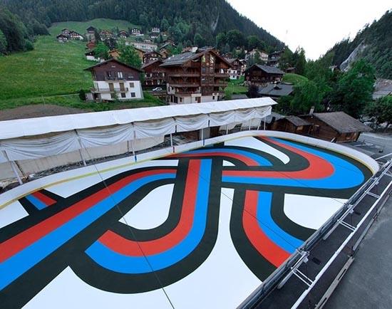 Εντυπωσιακή τέχνη μεγάλης κλίμακας στους δρόμους (1)