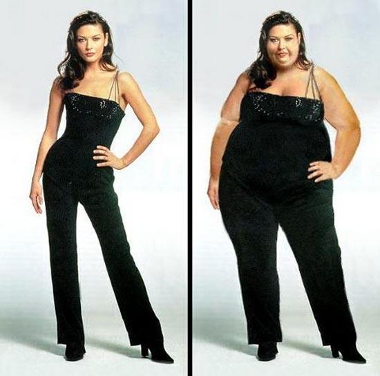 Τα εκπληκτικά αποτελέσματα της δίαιτας... Photoshop (1)