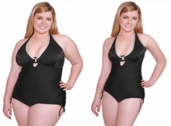 Τα εκπληκτικά αποτελέσματα της δίαιτας... Photoshop (4)