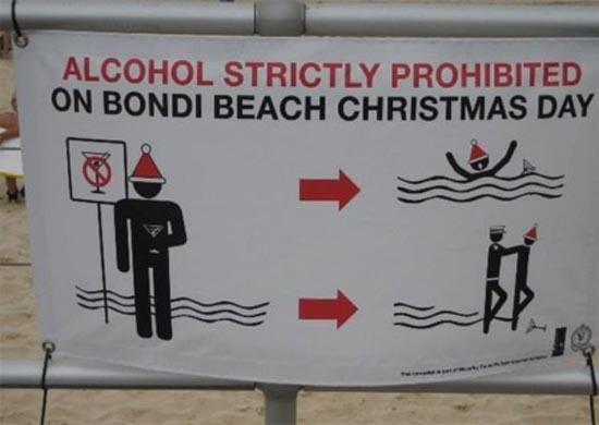 Αστείες & παράξενες πινακίδες στην παραλία (4)