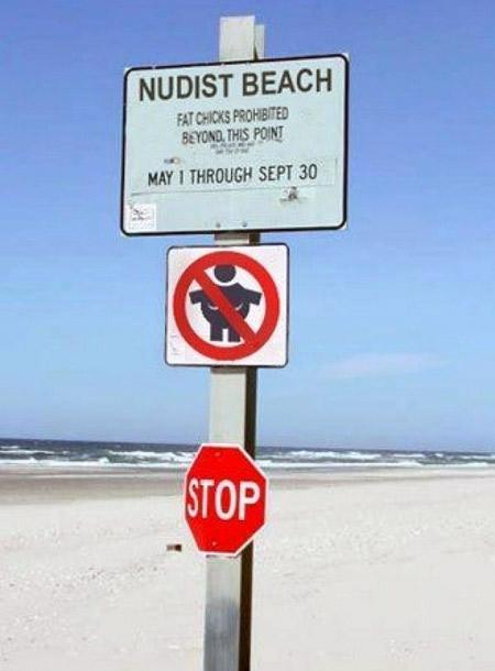 Αστείες & παράξενες πινακίδες στην παραλία (2)