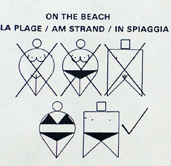 Αστείες & παράξενες πινακίδες στην παραλία (1)