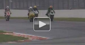 Ατύχημα με πολύ παράξενη εξέλιξη σε αγώνα μοτοσυκλέτας (Video)